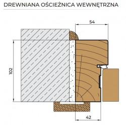 drewniana ościeżnica wew